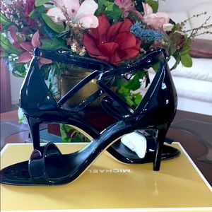 New Michael Kors patent sandals! Heels 3 inches!